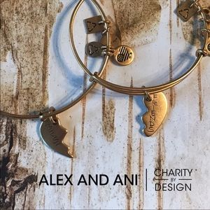 Alex and Ani Best Friend Bangle Set